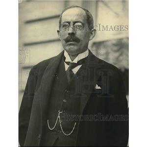1921 Press Photo Jonkjeer HA Van Karneback Minister of Foreign Affairs Netherlan