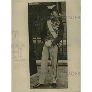 1918 Press Photo Jonkheer J. Loudon, foreign minister of Netherlands in uniform