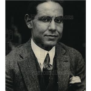 1922 Press Photo Abdullah Khan Entezan, 3rd Sec at Persian Embassy - neb49620