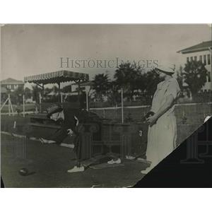 1925 Press Photo Bowling on the Green at Miami,Fla,