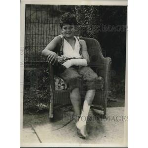 1930 Press Photo William McDonnell, age 12 fell out of tree after 226 hours