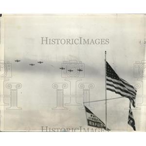 1929 Press Photo Cleveland, Ohio bi planes in Natl air races - nec05545