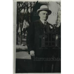 1931 Press Photo W R Bellamy Businessman Great Depression Era - nec06317