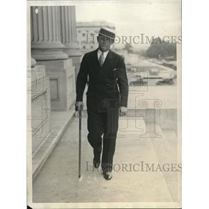 1930 Press Photo Art The Great Shires, new baseman for Washington Senators