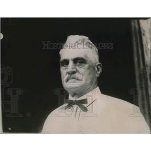 1919 Press Photo EH Collins, Anti Tobacco crusader