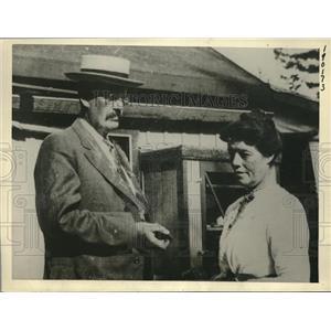 1922 Press Photo George Willis, Paymaster, Messengers Of The Boston News Bureau