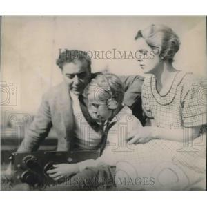 1922 Press Photo Radio's Garcia Family