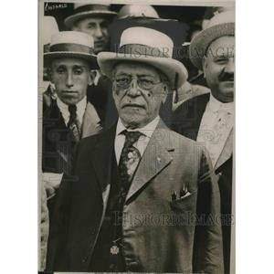 1919 Press Photo Samuel Gompers, Fed. of Labor president on George Washington