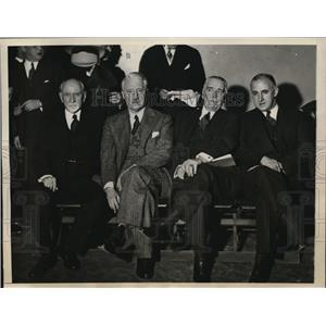 1937 Press Photo Protest on Nazis and Hitlerism at the Madison Square Garden