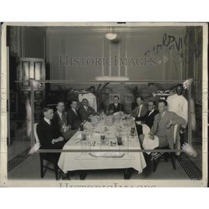 1925 Press Photo WC Grant,AP Tex. correspondent, S Brooks,M Anderson