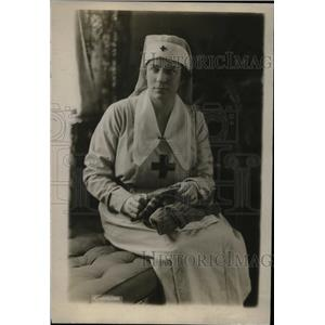 1919 Press Photo Miss Anne Rea,worked for Red Cross in Washington and Pittsburgh