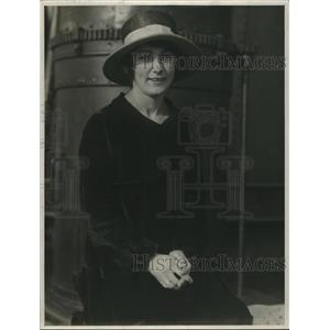 1918 Press Photo Frances Margaret Anderson of Australia arrives in U.S.