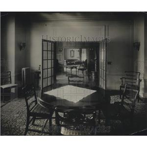 1920 Press Photo View of Suite in St. Francis Hotel in San Francisco