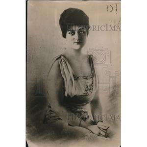 1917 Press Photo Olive Mitchel, wife of Mayor John P. Mitchel of New York