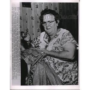 1950 Press Photo Mrs. George Lorman is Cincinnati's First Gold Star mother