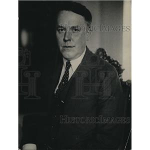 1922 Press Photo A widely known British advertising man Sir Charles Higham