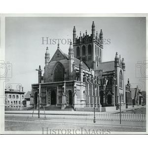 1910 Press Photo Episcopal Trinity Church - nec98856