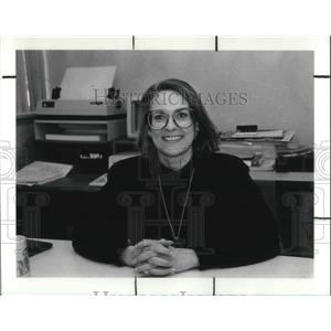 1990 Press Photo Jane Aggers Recently Promoted To Senior VP Of Merchandising