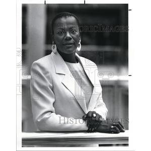 1989 Press Photo Hazel Chapman Mother of Tracy Chapman