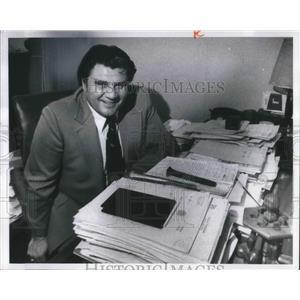 1975 Press Photo Nick DeVito, assistant law director, Cleveland