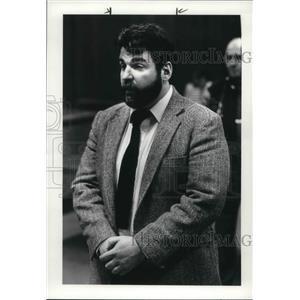 1986 Press Photo Brother Paul Botty sentenced in prison for molesting boys