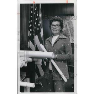 1976 Press Photo Marguerite Bowman