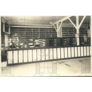 1922 Media Photo Unidentified Prison Library