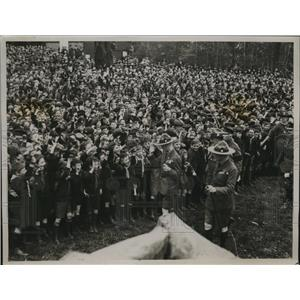 1922 Press Photo The Prince of Wales attended at Alexander Palace the biggest