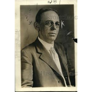 1919 Press Photo James L. Forrester of Cincinnati, Labor's choice for Postmaster