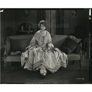 1921 Press Photo Stage & Film Actress Elsie Ferguson