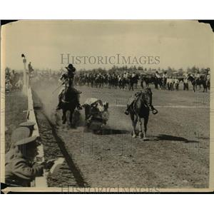 1925 Press Photo Cowboys