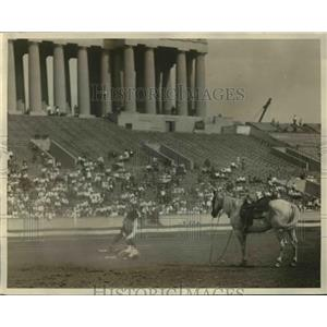 1926 Press Photo cowboys