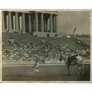 1926 Press Photo cowboys