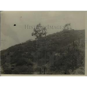 1925 Press Photo A mountain where scientists will try to harness sun's rays