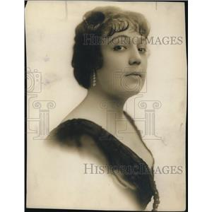 1914 Press Photo Frances Kennedy Johnson