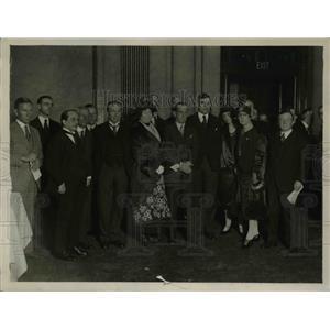 1926 Press Photo British Premier meets the Australian Cricketers