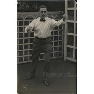 1918 Press Photo George A Schneider, Secretary of the Cleveland Athletic Club