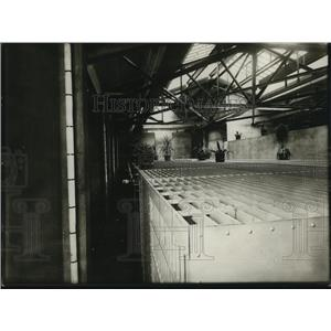 1923 Press Photo Cells in Women's ward.