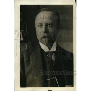 1913 Press Photo M. Zolger Peace Conference Delegate