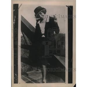 1920 Press Photo Actress Elizabeth Allen O'Brien