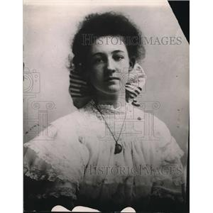 1913 Press Photo Lola Norris, Portrait Of Woman, by Joseph A Marron