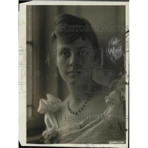 1918 Press Photo Miss Dorothy Evelyn Graves