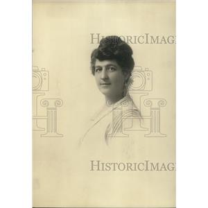 1920 Press Photo Bina M. West, supreme comm of the Woman's benefit Assn