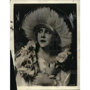 1921 Press Photo Miss Peggy Hoyt in the Merry Widow
