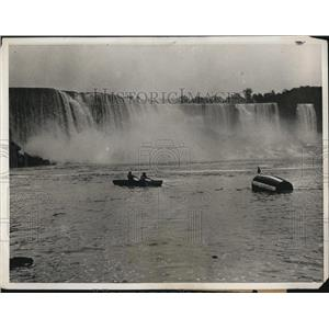 1931 Press Photo  Niagara Falls NY William Red Hill for barrel over falls