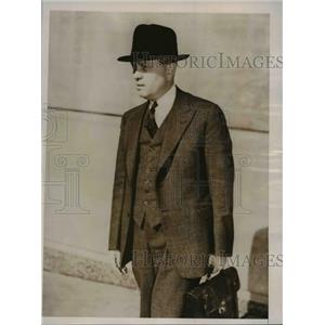 1936 Press Photo Nobel Pearce Winner H.C.Urey professor chemistry Columbia