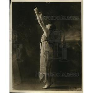 1915 Press Photo Manya Rudina model & dancer