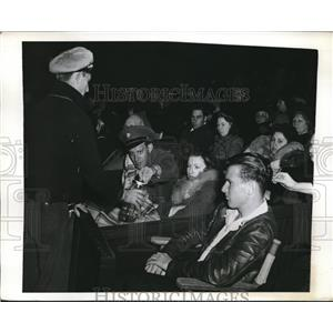 1941 Press Photo U.S. Army at Easter Sunrise Service in the Hollywood Bowl