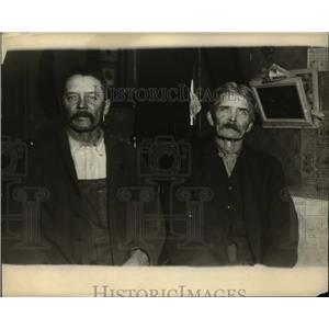 1922 Press Photo Richard Vermett and Frank Vermett