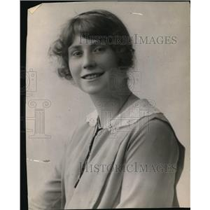 1913 Press Photo Olga Anderson
